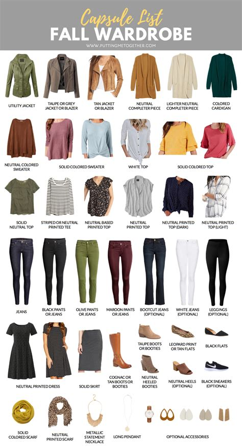 capsule wardrobe fall capsule wardrobe for the pmt fall 2018 challenge
