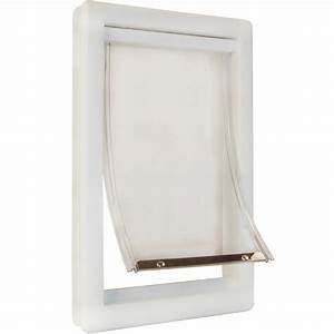 original plastic pet door small With plexiglass dog door