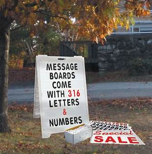 extra large message kit With message board letters and numbers
