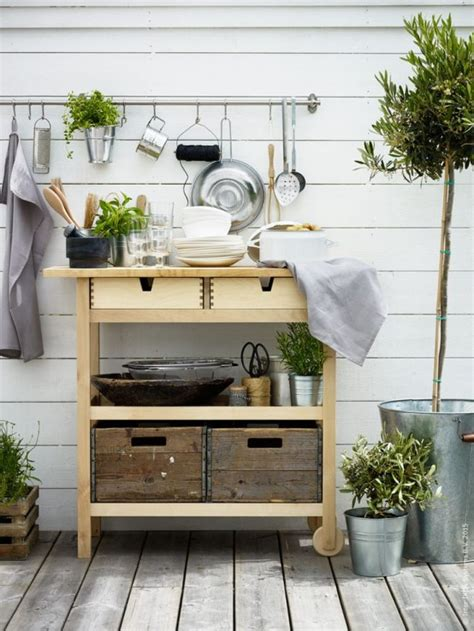 ikea foerhoeja cart storage  display ideas