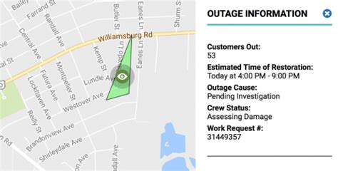power outages  church hill north fulton church hill