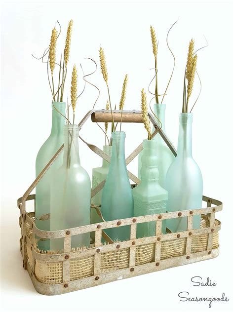Diy Sea Glass Bottles For Perfect Coastal Beach Decor