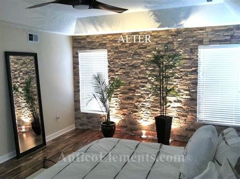 Wohnzimmer Design Wand Stein by I These Faux Panels To Turn The Living Room