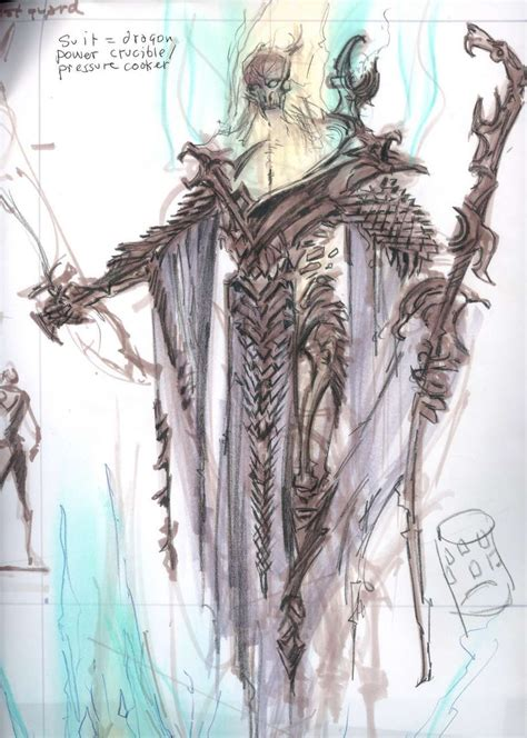 Dragon Priest Concept Art From The Elder Scrolls V Skyrim