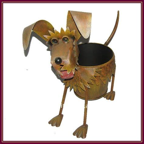 Metal Animal Garden Planter   Buy Outdoor Metal Planters