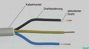 Lampe Anschließen 2 Kabel Ohne Farbe : leitungsbezeichnungen ~ Orissabook.com Haus und Dekorationen