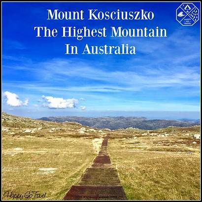 Kosciuszko Australia Mountain Mount Highest Climbing Mt