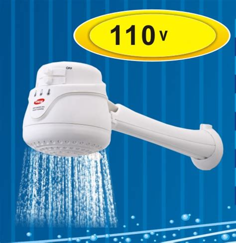 Point Of Use Water Heater For Shower - coral max 110v electric shower instant water