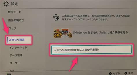 Switch 時間 制限