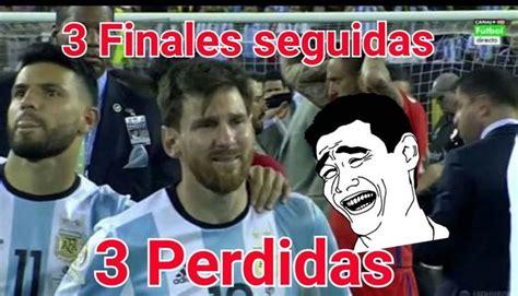 Memes De Lionel Messi - lionel messi pierde final de copa am 233 rica y es blanco de burlas con divertidos memes peru com