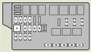 Lexus Gs350  2007  - Fuse Box Diagram