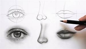 Get Great At Drawing Face Parts  Eye  Nose And Lips