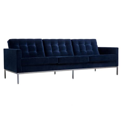 canape knoll canap 233 3 places florence knoll tissu york velvet knoll