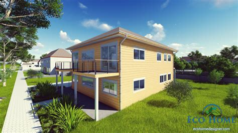 4 X 40ft 4 Bedroom Container Home
