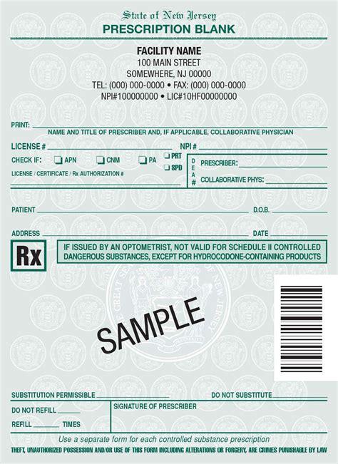 jersey rx pads nj rx prescription pads printing