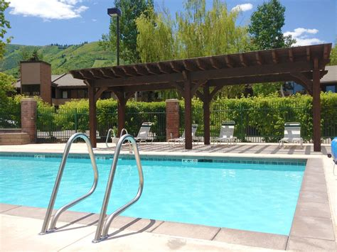pool with pergola 20 cool pool side shade pergolas pavilions arbors western timber frame
