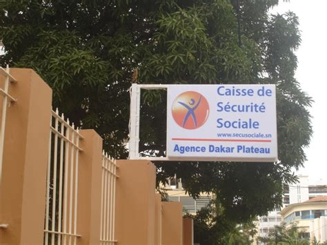 siege securite sociale eregulations sénégal
