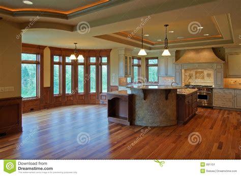cuisines de luxe luxury kitchen stock image image of hardwood sink