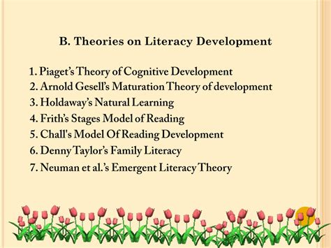 literacy theories early childhood education