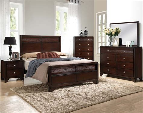 white wooden headboard brown 3 or 5 bedroom tamblin bedroom set