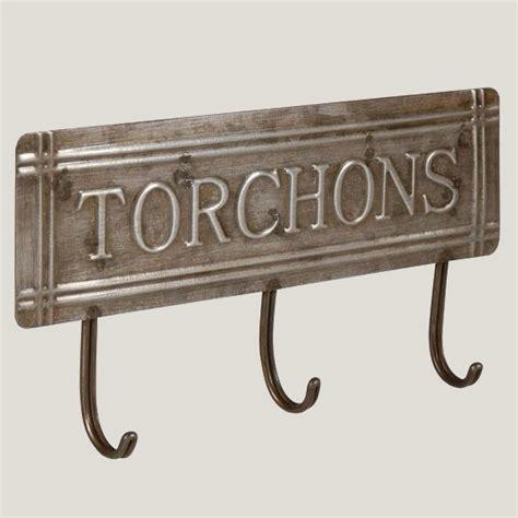 accroche torchons cuisine accroche torchons style cuisine bistrot en zinc de la