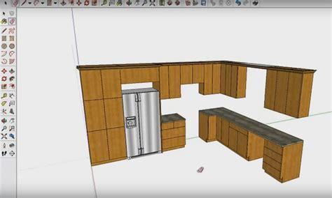 sketchup cuisine exemple du travail réalisé avec le logiciel de cuisine fusion 3d