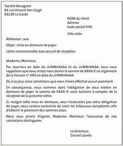 Modele De Lettre De Relance : exemple lettre facture impayee ~ Gottalentnigeria.com Avis de Voitures