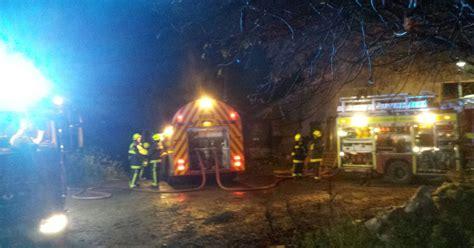 Firefighters Tackle Major Barn Fire In North Devon