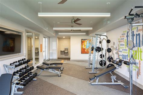 Apartment Fitness Center by Amenities Utd Apartments Northside Apartments