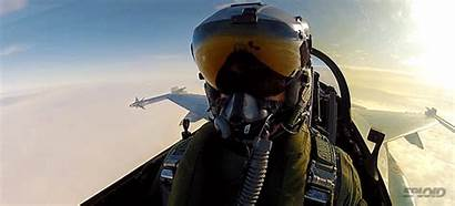 Pilot Selfie Firing Missile Fighter Awesome Military