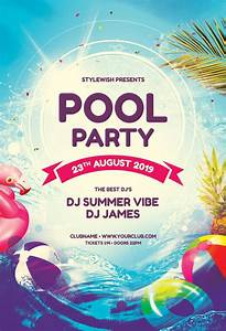 Pool, Party, Flyer, By, Stylewish, Download, The, Psd, Design, For