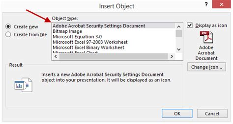 insert  file  ms office document quickly
