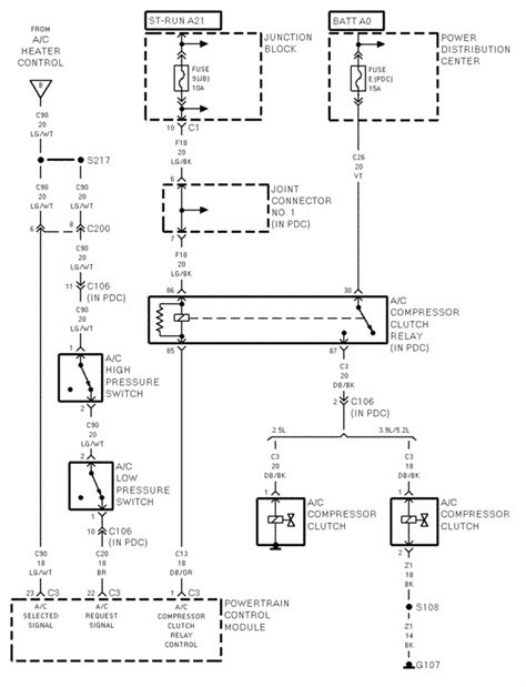 1987 Dodge Dakotum Wiring Diagram by I Need A Wiring Diagram For The Air Conditioner System On