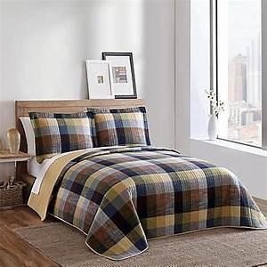 brooklyn loom kent yarn dyed quilt bed bath beyond With brooklyn loom bedding