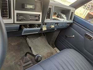Classic 1985 Ford Ranger Blue 4 Cylinder Manual
