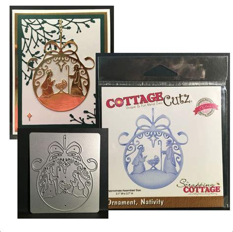 cottage cutz dies ornament nativity metal die cottage cutz dies