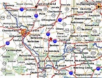 Mount Vernon Illinois Map | Zip Code Map