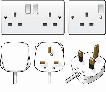 Plug Electric Clip Socket Illustrations