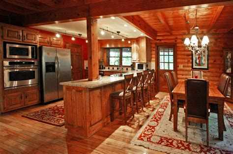 Log Home And Cabin Interiors