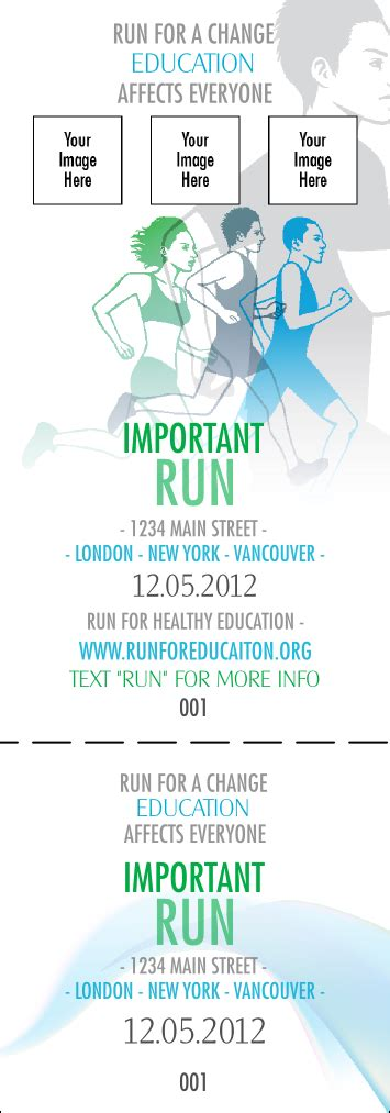 how much is a ticket for running a light run for a cause blue green event ticket