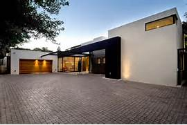 Minimalist One Storey House With Modern Art Modern Architecture Conversion In South Africa Moss Oaklands