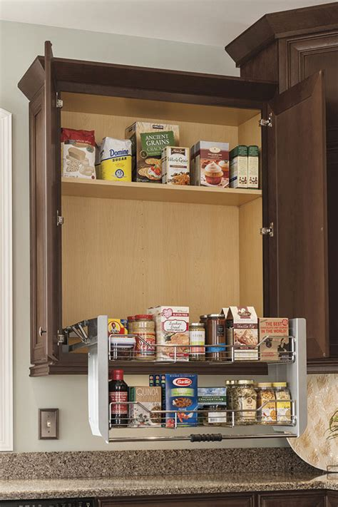 Pull Out Cupboards by Thomasville Organization Wall Cabinet With Pull Shelf