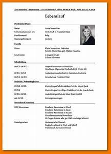Bewerbung fur schule transition plan templates for Lebenslauf schulbewerbung