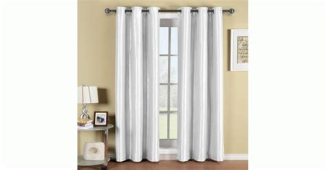 Soho White Grommet Blackout Window Curtain Panel Wooden Door Curtain Pole Shower Frame Clawfoot Tub Extra Length Curtains Measurements C H Fabrics Pelmet Styles Bay Window Track Corded Rod Parts Dunelm Eyelet Uk