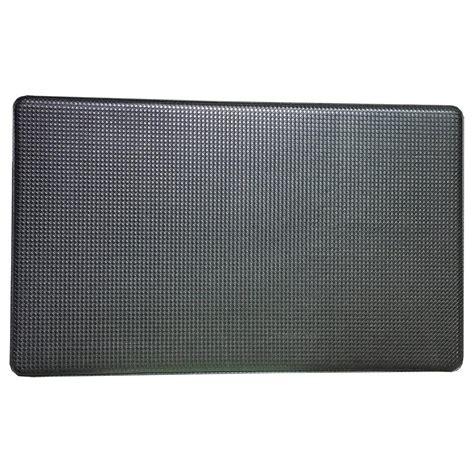 kitchen foam mats art3d premium reversible memory foam black 18 in x 30 in