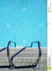 Top View Swimming Pool Water Ladder Stock Photo - Image ...