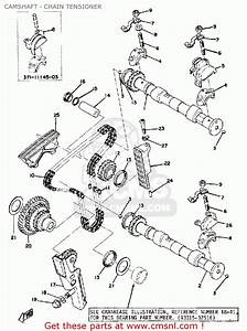 Yamaha Xs500 1975 Usa Camshaft - Chain Tensioner