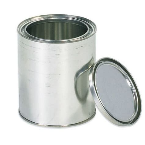can you paint at empty 1 quart paint can with lid new ebay