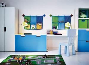 idee rangement chambre enfant avec meubles ikea With meubles pour petits espaces 18 meuble rangement enfant ikea stuva