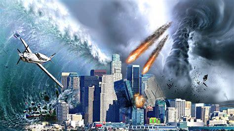 mega earthquake tsunami tornado meteors destroys los